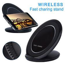 Qi Wireless Ladegerät Induktiv Ladestation Charger für Samsung Galaxy S9 S8 S7