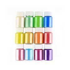 Slime Diy Mica Powder, Natural Powder Pigment Set for Slime Colorants, Bath B.