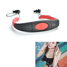 4GB IPX8 Impermeabile Lettore MP3 Player FM Radio Cuffie Per Nuoto Surf Diving