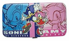 *New* Sonic The Hedgehog: Sonic & Amy Hinged Wallet by Ge Animation