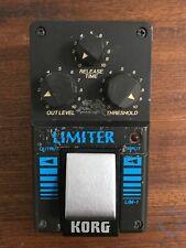 Korg LIM-1, Limiter, Made In Japan, 1980s, Vintage Guitar Effect Pedal