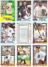 2017 Topps Archives Detroit Tigers Team Set w/ Snapshots (11)