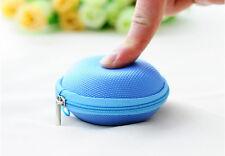 New Mini Zipper Box Carrying Pouch Earphone Headphone SD Card Storage Bag S4