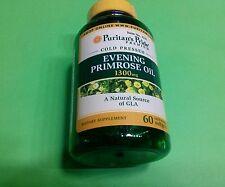 Aceite onagra 1300 mg 60 perlas Menstruacion Piel Colesterol Cancer Cerebro