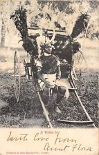 POSTCARD   SOUTH  AFRICA  ETHNIC  A  Riksha  Boy