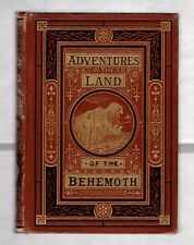 ADVENTURES IN THE LAND OF THE BEHEMOTH 1874 JULES VERNE * ILLUSTRATED MERIDIANA