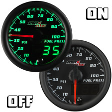MaxTow 52mm Black SERIES FUEL PRESSURE 0 - 100 PSI GAUGE MT-DV11