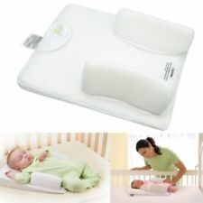 US Newborn Infant Anti Roll Pillow Sleep Positioner Prevent Flat Head Cushion
