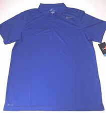 Nike N.E.T. Classic Racket Sports Polo en Bleu Royal-Adult Medium