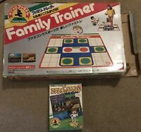 Famicom Bandai Family Fitness Trainer In Box With Athletic World