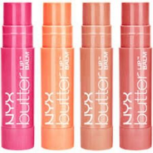 NYX Butter Lip Balm 4g  Choose Shade \ BN Sealed Authentic - UK Seller