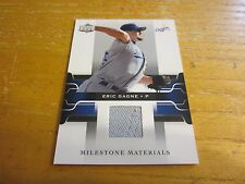 Eric Gagne 2005 Upper Deck Milestone Materials #EG Jersey Relic Card MLB Dodgers