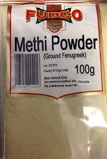 GROUND FENUGREEK POWDER ( METHI POWDER ) 100G - FUDCO PREMIUM QUALITY