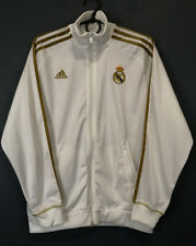 RARE MENS ADIDAS FC REAL MADRID 2011/2012 JACKET TRAINING SOCCER FOOTBALL SIZE M