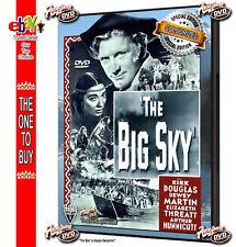 THE BIG SKY - DVDr 1952 ----> COLORIZED <----- Kirk Douglas, Dewey Martin