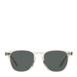 Garrett Leight Brooks Sunglasses Champagne / Blue Smoke
