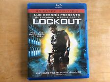 BLU RAY LOCKOUT LUC BESSON GUY PIERCE MAGGIE GRACE GREAT CONDITION