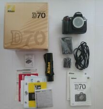 Nikon D70 6.1 MP Digital SLR Camera - Body Only - With Box - Works