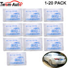 Clear Plastic Disposable Car Cover Temporary Universal Garage Rain Dust 1-20pack