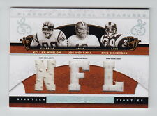 2007 National Treasures Dickerson Montana Winslow All Decade Jersey SSP (1/2)