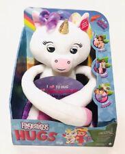 WowWee Fingerlings Hugs Interactive Plush White Unicorn Gigi Stuffed Animal Toy