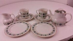 Royal Doulton Tapestry Design Tea Set Free UK P&P
