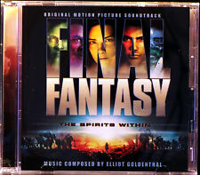 Final Fantasy: The Spirits Within Soundtrack by Elliot Goldenthal (CD,2001 Sony)