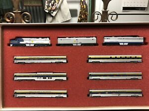 Limited Edition Con Cor Delaware And Hudson Passenger Set In N Scale