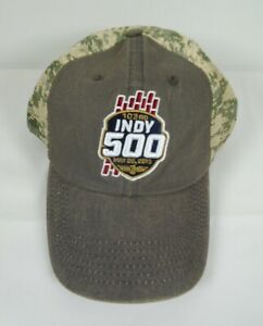 2019 Indianapolis 500 103rd Running Event Collector Hat Snapback Camouflage Cap