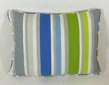 Designers Guild Piselli odorosi blu Lime Copricuscino 40.6cmx30.5cm