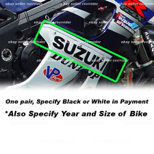 suzuki gsxr large fairing decals sticker