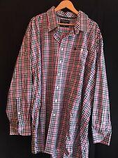 RAGING BULL Paisley petrol blue short sleeve shirt size small-XXL