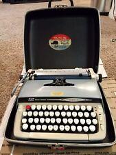 Vintage Smith Corona Galaxie 2 II Typewriter w/ Case Manual & Key - Works Great