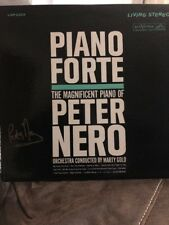 Piano Forte The Magnificent Piano of Peter Nero Orchestra by Marty Gold Signed