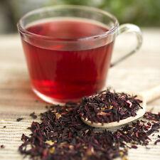 Hibiscus flower herbal Tea 100 tea bags Organic Healthy delicious tea Vitamin C