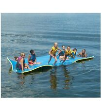 Layer Floating Oasis Water Pad Island Water Sports Mat Float Pad Utility US