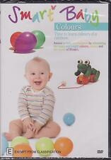 SMART BABY - COLOURS - TIME TO LEARN ABOUT COLOURS OF THE RAINBOW - DVD - NEW