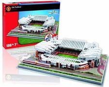 Manchester Utd. Old Trafford Stadium 3D jigsaw puzzle  (pl)