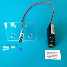 Dummy Alarm Box LEDs inc Fixing Kit + (10 Yr Battery) Single Flashing Blue LED