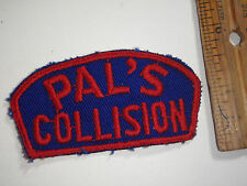 PAL'S COLLISION AUTOBODY PATCH  FORD DODGE OLDSMOBILE  1960'S   BX L 92