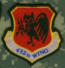 Isaf Afsoc War Trophy MQ-9 Death From Above Bardana Insignia Patch : 423d Wing