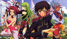 Code Geass C.C., Lelouch, Kallen, and Rolo in Garden Custom Playmat #366625