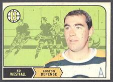 1968 69 OPC O PEE CHEE HOCKEY #135 ED WESTFALL EX-NM BOSTON BRUINS CARD