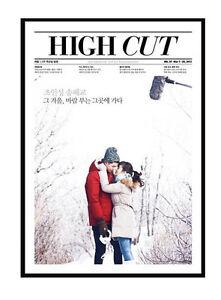 HIGH CUT Korea, Vol 97, Song Hye Gyo, Jo In Sung, THAT WINTER