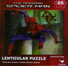 NEW ~ MARVEL ~ THE AMAZING SPIDER-MAN ~ 48 PIECE LENTICULAR 2012 MOVIE PUZZLE #2