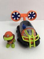 Paw Patrol Zuma Jungle Rescue Hovercraft Vehicle &  w/Original Figure