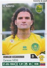 274 OSWALDO VIZCARRONDO VENEZUELA FC NANTES STICKER FOOT 2014 PANINI
