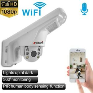 NEW CAMHI APP Street Light Mini Ptz Wifi Cctv Camera UK seller