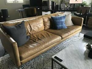 Freedom Clifford 3 Seater Leather Sofa