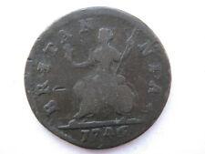 1746 George II Farthing F